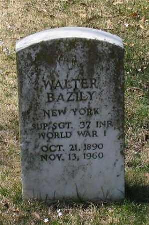 BAZILY (VETERAN WWI), WALTER - Garland County, Arkansas | WALTER BAZILY (VETERAN WWI) - Arkansas Gravestone Photos