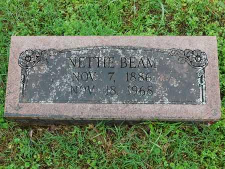BEAM, NETTIE - Garland County, Arkansas   NETTIE BEAM - Arkansas Gravestone Photos