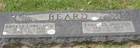 BEARD, ERNEST LOWRANCE - Garland County, Arkansas | ERNEST LOWRANCE BEARD - Arkansas Gravestone Photos