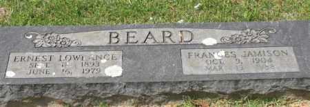 BEARD, ERNEST LOWRANCE - Garland County, Arkansas | ERNEST LOWRANCE BEARD - Arkansas Gravestone Photos