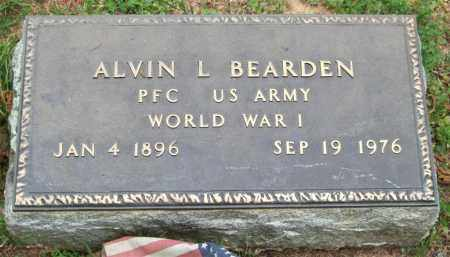 BEARDEN (VETERAN WWI), ALVIN L. - Garland County, Arkansas | ALVIN L. BEARDEN (VETERAN WWI) - Arkansas Gravestone Photos