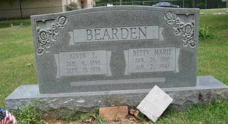 BEARDEN, ALVIN L. - Garland County, Arkansas | ALVIN L. BEARDEN - Arkansas Gravestone Photos