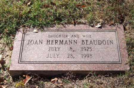 HERMANN BEAUDOIN, JOAN - Garland County, Arkansas | JOAN HERMANN BEAUDOIN - Arkansas Gravestone Photos