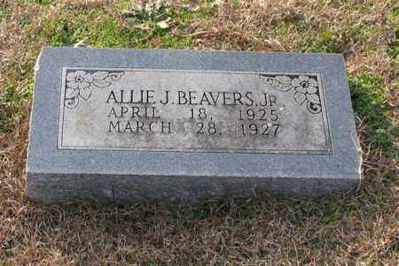 BEAVERS, JR., ALLIE J. - Garland County, Arkansas | ALLIE J. BEAVERS, JR. - Arkansas Gravestone Photos