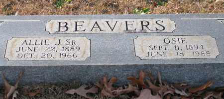 BEAVERS, OSIE - Garland County, Arkansas | OSIE BEAVERS - Arkansas Gravestone Photos