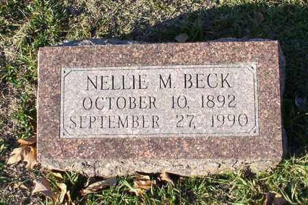 BECK, NELLIE M. - Garland County, Arkansas | NELLIE M. BECK - Arkansas Gravestone Photos