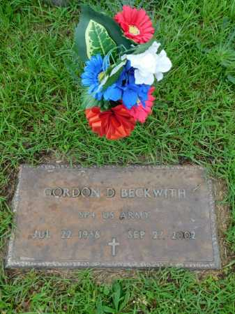 BECKWITH (VETERAN), GORDON D - Garland County, Arkansas | GORDON D BECKWITH (VETERAN) - Arkansas Gravestone Photos