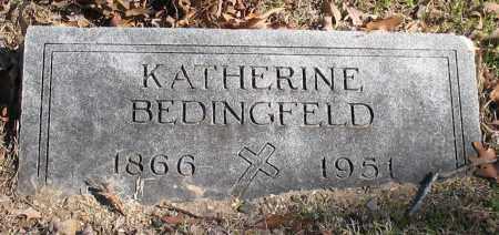 BEDINGFELD, KATHERINE - Garland County, Arkansas | KATHERINE BEDINGFELD - Arkansas Gravestone Photos
