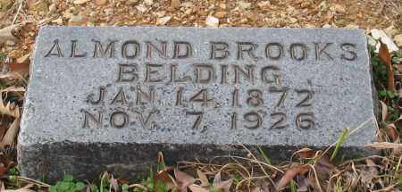 BELDING, ALMOND BROOKS - Garland County, Arkansas | ALMOND BROOKS BELDING - Arkansas Gravestone Photos