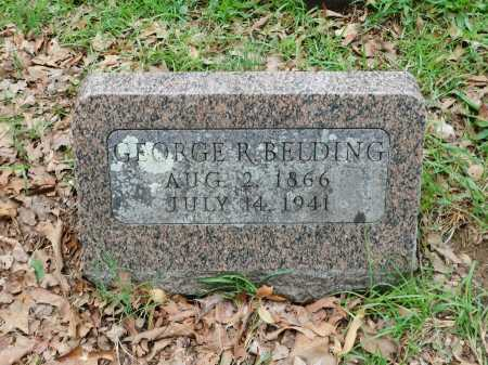 BELDING, GEORGE R. - Garland County, Arkansas | GEORGE R. BELDING - Arkansas Gravestone Photos