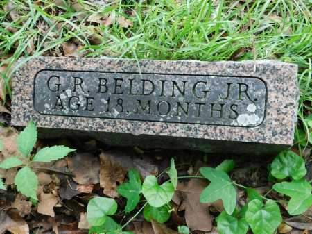 BELDING, JR., G. R. - Garland County, Arkansas | G. R. BELDING, JR. - Arkansas Gravestone Photos