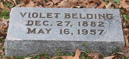 BELDING, VIOLET - Garland County, Arkansas | VIOLET BELDING - Arkansas Gravestone Photos