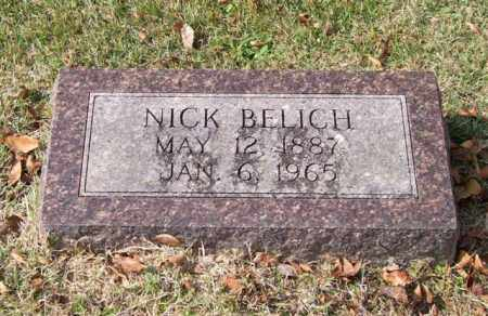 BELICH, NICK - Garland County, Arkansas   NICK BELICH - Arkansas Gravestone Photos