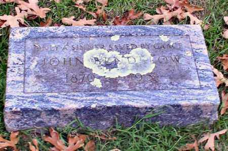 BENDELOW, JOHN - Garland County, Arkansas | JOHN BENDELOW - Arkansas Gravestone Photos
