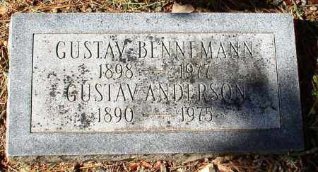 BENNEMANN, GUSTAV - Garland County, Arkansas | GUSTAV BENNEMANN - Arkansas Gravestone Photos