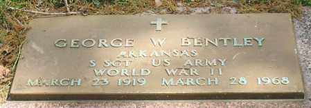BENTLEY (VETERAN WWII), GEORGE W - Garland County, Arkansas | GEORGE W BENTLEY (VETERAN WWII) - Arkansas Gravestone Photos