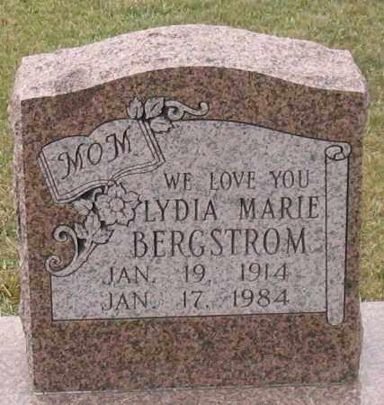 BERGSTROM, LYDIA MARIE - Garland County, Arkansas | LYDIA MARIE BERGSTROM - Arkansas Gravestone Photos