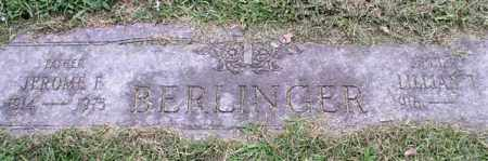 BERLINGER, JEROME F. - Garland County, Arkansas | JEROME F. BERLINGER - Arkansas Gravestone Photos