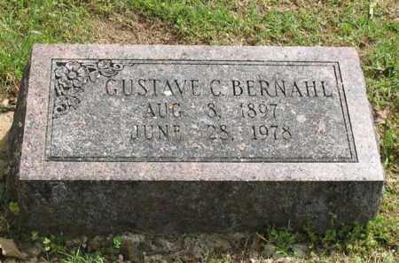 BERNAHL, GUSTAVE C. - Garland County, Arkansas | GUSTAVE C. BERNAHL - Arkansas Gravestone Photos