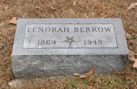 BERROW, LENORAH - Garland County, Arkansas | LENORAH BERROW - Arkansas Gravestone Photos