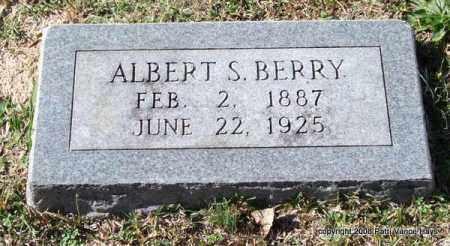 BERRY, ALBERT S. - Garland County, Arkansas | ALBERT S. BERRY - Arkansas Gravestone Photos
