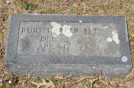 HARPER BETSILL, RUBY - Garland County, Arkansas | RUBY HARPER BETSILL - Arkansas Gravestone Photos
