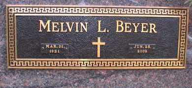 BEYER, MELVIN LEROY - Garland County, Arkansas | MELVIN LEROY BEYER - Arkansas Gravestone Photos
