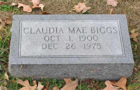 BIGGS, CLAUDIA MAE - Garland County, Arkansas | CLAUDIA MAE BIGGS - Arkansas Gravestone Photos