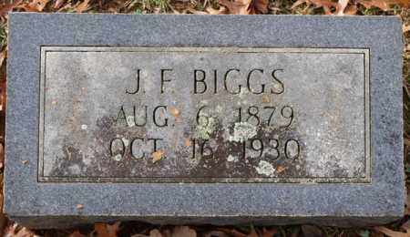 BIGGS, J. F. - Garland County, Arkansas | J. F. BIGGS - Arkansas Gravestone Photos