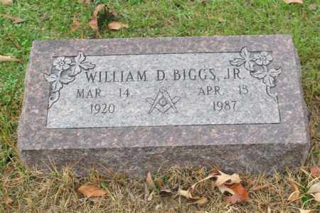 BIGGS, JR. (VETERAN WWII), WILLIAM D - Garland County, Arkansas | WILLIAM D BIGGS, JR. (VETERAN WWII) - Arkansas Gravestone Photos