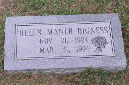 BIGNESS, HELEN - Garland County, Arkansas | HELEN BIGNESS - Arkansas Gravestone Photos