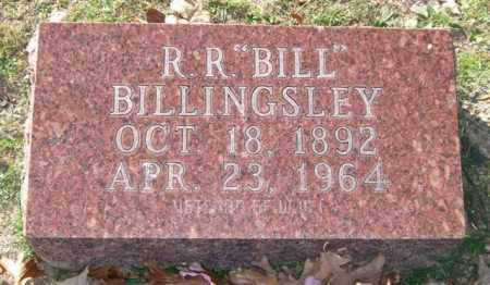 BILLINGSLEY (VETERAN WWI), R. R. - Garland County, Arkansas | R. R. BILLINGSLEY (VETERAN WWI) - Arkansas Gravestone Photos