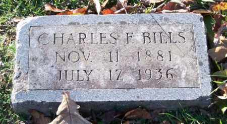 BILLS, CHARLES F. - Garland County, Arkansas | CHARLES F. BILLS - Arkansas Gravestone Photos