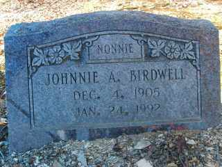 BIRDWELL, JOHNNIE A - Garland County, Arkansas | JOHNNIE A BIRDWELL - Arkansas Gravestone Photos