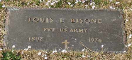BISONE (VETERAN), LOUIS L - Garland County, Arkansas | LOUIS L BISONE (VETERAN) - Arkansas Gravestone Photos