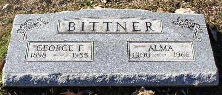 BITTNER, GEORGE F. - Garland County, Arkansas | GEORGE F. BITTNER - Arkansas Gravestone Photos