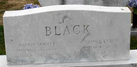BLACK, JAMES CYRUS - Garland County, Arkansas | JAMES CYRUS BLACK - Arkansas Gravestone Photos
