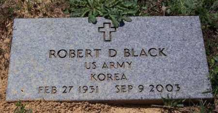 BLACK (VETERAN KOR), ROBERT D. - Garland County, Arkansas | ROBERT D. BLACK (VETERAN KOR) - Arkansas Gravestone Photos