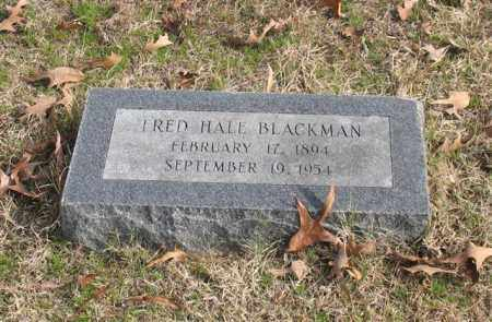 BLACKMAN, FRED HALE - Garland County, Arkansas | FRED HALE BLACKMAN - Arkansas Gravestone Photos