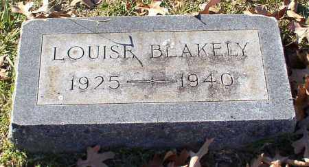 BLAKELY, LOUISE - Garland County, Arkansas | LOUISE BLAKELY - Arkansas Gravestone Photos