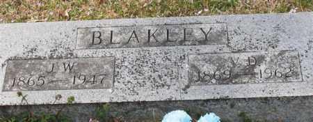 BLAKLEY, J. W. - Garland County, Arkansas | J. W. BLAKLEY - Arkansas Gravestone Photos
