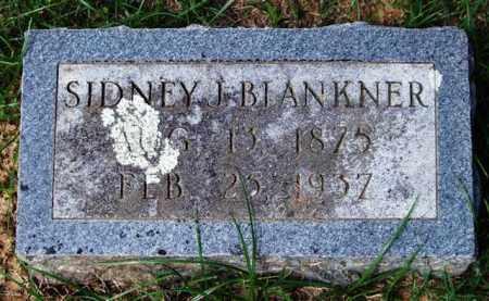 BLANKNER, SIDNEY J. - Garland County, Arkansas | SIDNEY J. BLANKNER - Arkansas Gravestone Photos