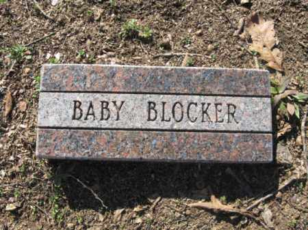 BLOCKER, BABY - Garland County, Arkansas | BABY BLOCKER - Arkansas Gravestone Photos