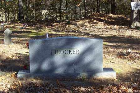BLOCKER FAMILY, MARKER - Garland County, Arkansas | MARKER BLOCKER FAMILY - Arkansas Gravestone Photos