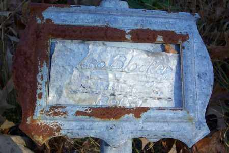 BLOCKER, LEO - Garland County, Arkansas | LEO BLOCKER - Arkansas Gravestone Photos