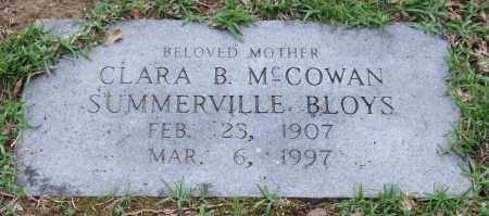 BLOYS, CLARA B. - Garland County, Arkansas | CLARA B. BLOYS - Arkansas Gravestone Photos