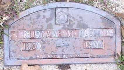 BLUM, GUSTAVE E. - Garland County, Arkansas | GUSTAVE E. BLUM - Arkansas Gravestone Photos