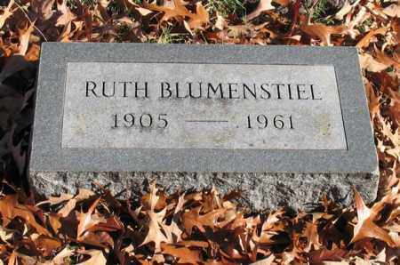 BLUMENSTIEL, RUTH - Garland County, Arkansas | RUTH BLUMENSTIEL - Arkansas Gravestone Photos
