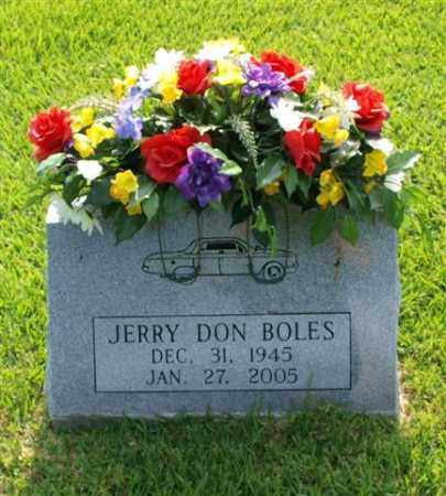BOLES, JERRY DON - Garland County, Arkansas | JERRY DON BOLES - Arkansas Gravestone Photos