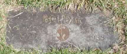 BOLING, HELEN MAE - Garland County, Arkansas | HELEN MAE BOLING - Arkansas Gravestone Photos